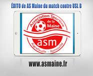 édito de l'AS Maine du match contre l'USL B